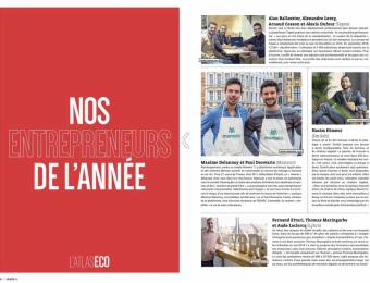 Maxime et Paul élus Entrepreneurs de l'année !